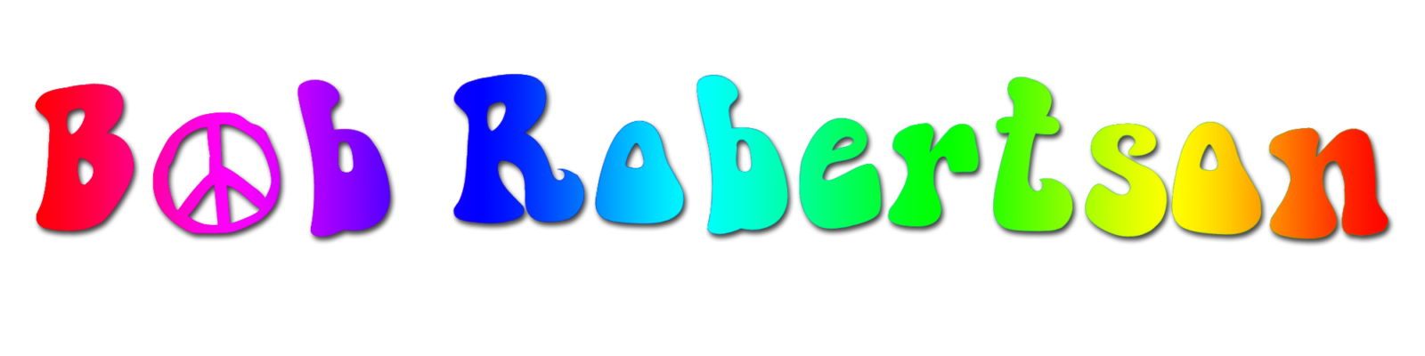 "Bob ""the flower"" Robertson Bob ""the flower"" Robertson LOGOBOB 1600x400"
